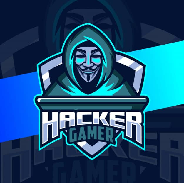 anonymous hacker mascot logo design 139366 462